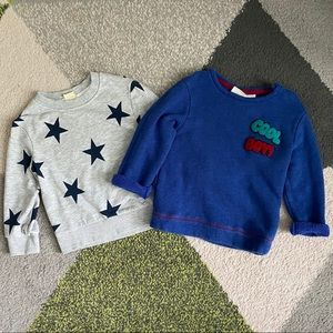 Sweatshirt bundle toddler boys 18-24M set Zara H&M